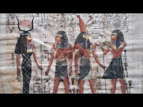 Egypte in papyrus