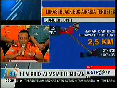 Black Box Pesawat Air Asia QZ8501 Telah Ditemukan Basarnas ...