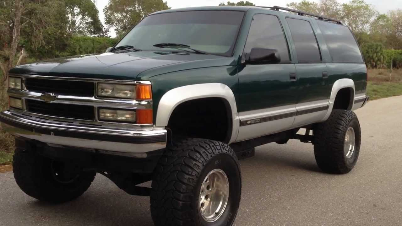 1995 chevy suburban 4x4 view our current inventory at fortmyerswa com youtube [ 1280 x 720 Pixel ]