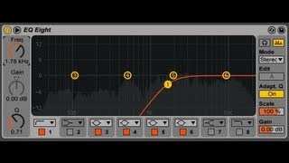 Ableton Live 9: EQ Eight's new features