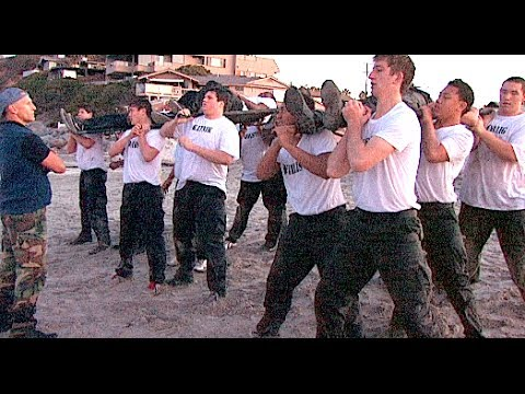 St. John Bosco Football SEALFIT Training : Moonlight Beach (CA) 2014