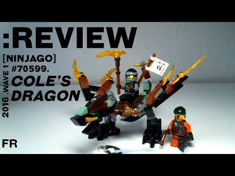 REVIEW] LEGO Ninjago : Cole's Dragon [Français] - YouTube