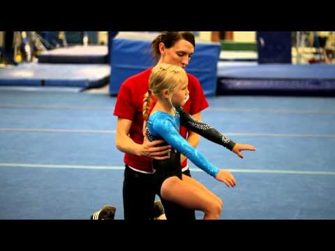 Back Handsprings for Beginner Gymnasts : Beginning Gymnastics