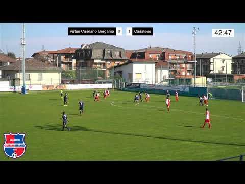 Virtus Ciserano Bergamo-Casatese 0-2, 5° giornata di ritorno Serie D girone B 2020-2021