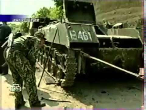 Расстрел дембелей в Ингушетии 11 05 2000 ,99 ДОН ВВ МВД Около с Галашки