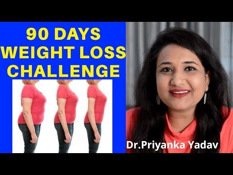 Weight loss challenge | How to lose weight fast [Hindi]