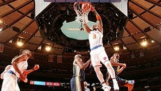 J.r. smith's big two-handed dunk!