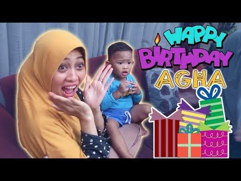Reaksi lucu Agha dapat surprise ulang tahun