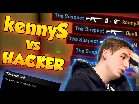 CS:GO - kennyS vs HACKER - Matchmaking w/ nV_DEVIL