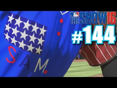 PLAYING UNCLE SAM FROM SOFTBALL! | MLB The Show 16 | Diamond Dynasty #144
