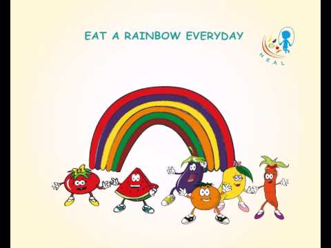 Quot Eat A Rainbow Quot English Clip Youtube