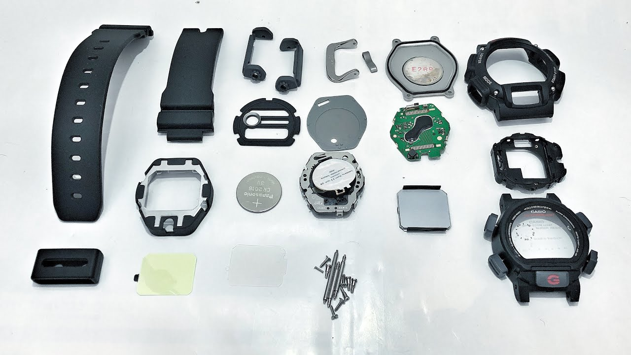 Whats Inside A Dw 9052 Series G Shock