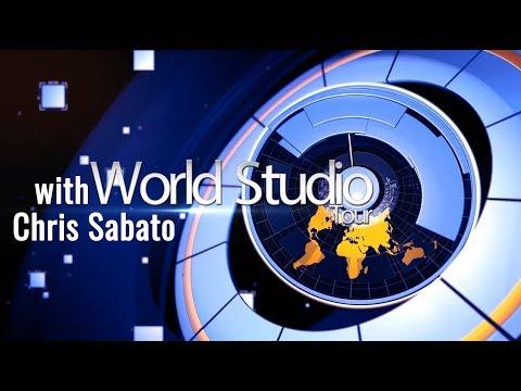 World Studio Tour  || Live Streaming College Sports w/ Outdoor PTZ Cameras