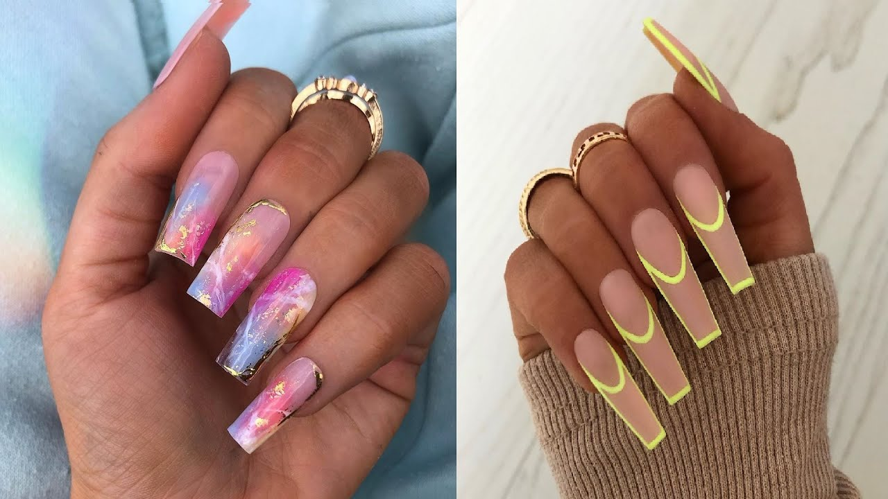 Gorgeous Acrylic Nail Ideas to Inspire You   The Best Nail Art Designs