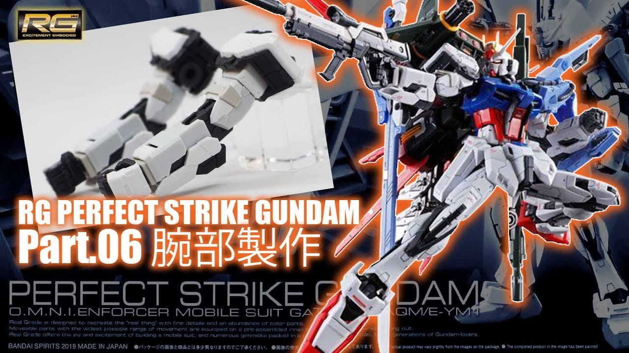 RG 1//144 Mobile Suit Gundam SEED GAT-X105 Aile Strike Gundam Pla... FROM JAPAN