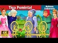 Tiga Pemintal | The Three Spinners Story | Dongeng anak | Dongeng Bahasa Indonesia