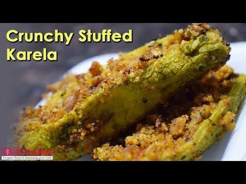 Crunchy Karela ★ Stuffed Karela ★ मज़ेदार कुरकुरे करेला ★ Crispy Bitter Gourd Fry