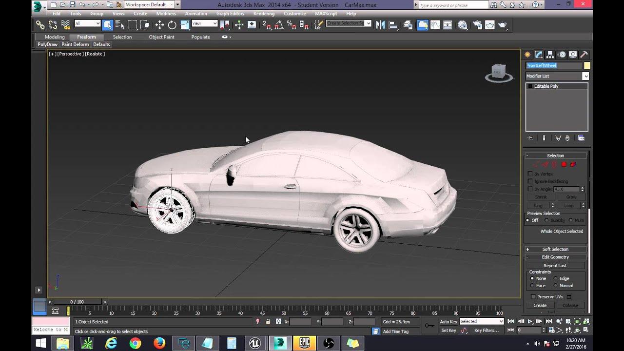 UE4 - How to Make Vehicles