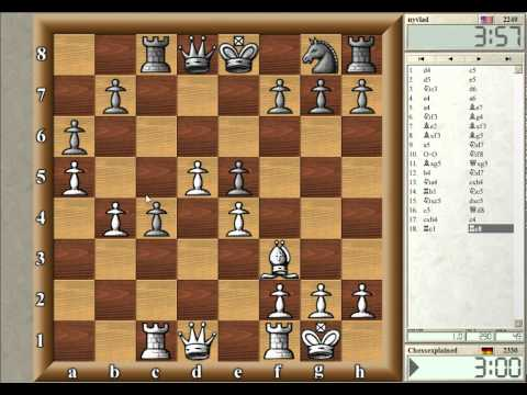 Blitz Chess #10 with Live Comments - Old/Czech Benoni (w win)