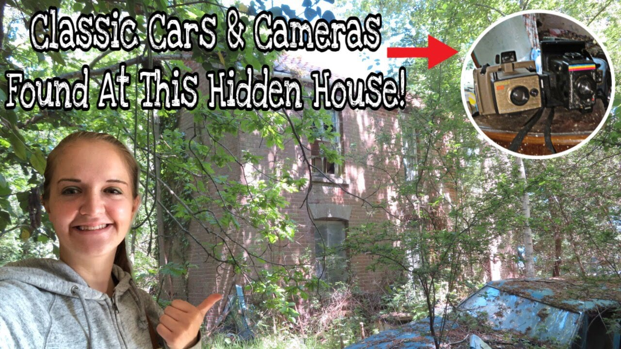 CLASSIC CARS & CAMERAS FOUND AT THIS HIDDEN HOUSE!