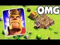 Unlimited Max Barbarian King Attack On Clash Of Clans   COC Funny GamePlay
