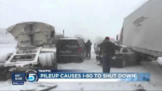 More Than 40 Trucks Involved In A Destroying Pileup. Shocking Number Of Victims.