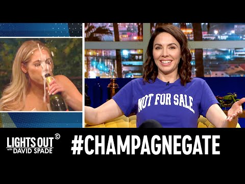 The Bachelor's Champagne-Gate (feat. Whitney Cummings) - Lights Out with David Spade