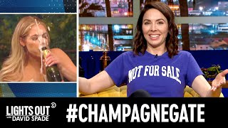 """#ChampagneGate Rocks """"The Bachelor"""" (feat. Whitney Cummings) - Lights Out with David Spade"""