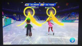 Mario & Sonic at the Sochi 2014 Olympic Winter Games Figure Skating Pairs 288