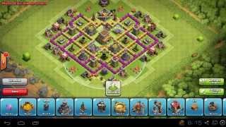 Diseño de Aldea Defensiva - Ayuntamiento Lvl 7 - Clash of clans
