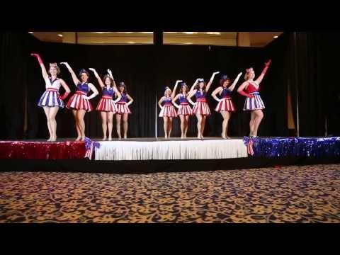 Captain America USO Girl Dancers Dragon Con 2013 Avengers Ball