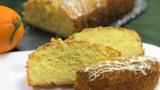 Şerbetli tatlı lezzetinde portakallı ıslak kek / Mikser kullanmadan yapılan kolay tatlı tarifi