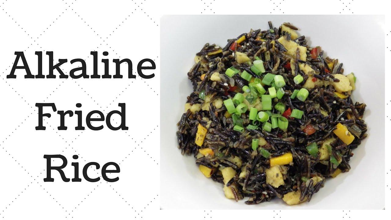 Fried Rice Dr  Sebi Alkaline Electric Recipe