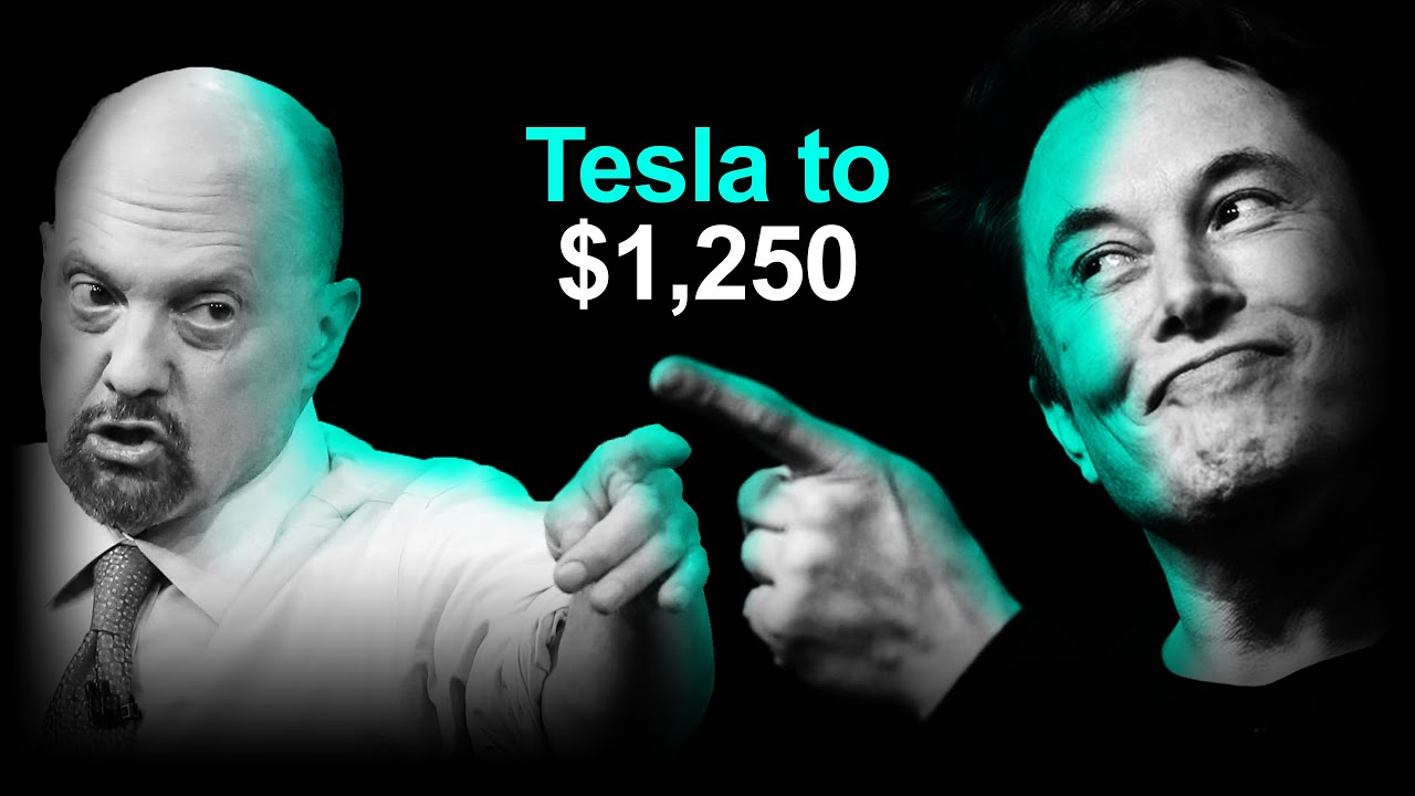 Download Cramer Says BET On Tesla, Stock +50% SOON: Analyst