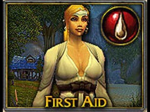 Первая помощь (прокачка 1-600)