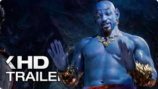 ALADDIN All Clips & Trailers (2019)