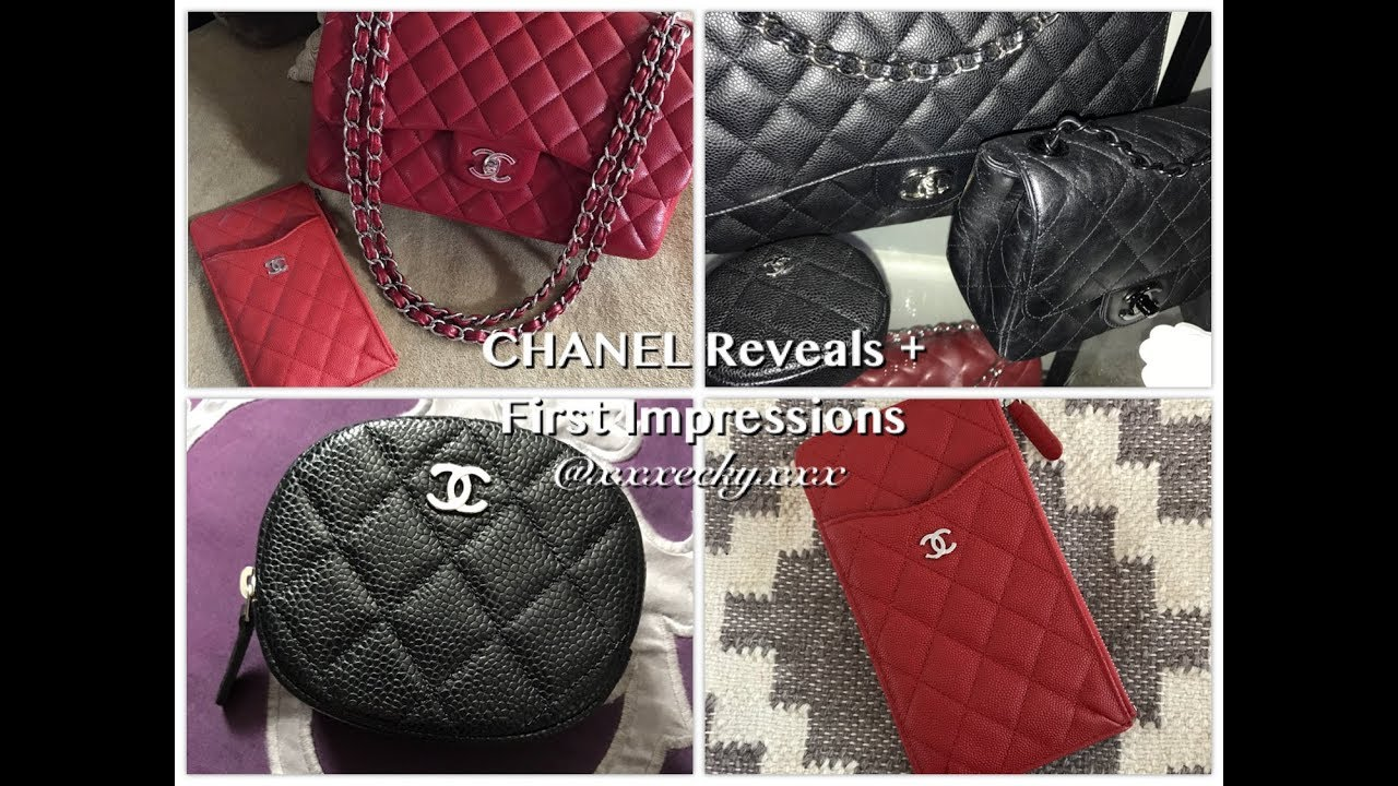 622e89b5e47171 Chanel Reveals + First Impressions - Phone Case Card Holder | Coin ...