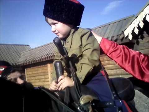 Посажение на коня Мирона Турченко