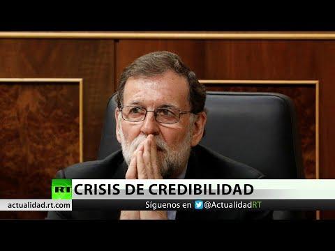 El PSOE registra en el Congreso una moción de censura contra Mariano Rajoy