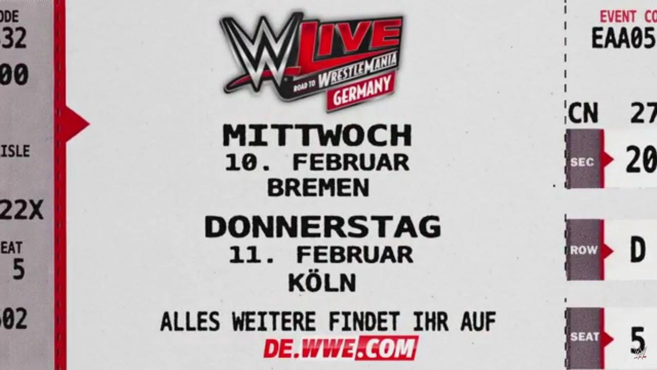 Wwe Live Bremen