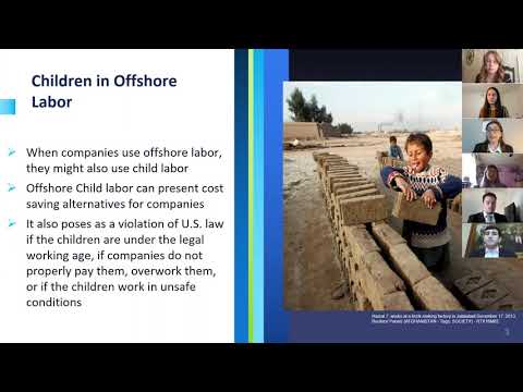 Group 8 Geico Ethics Group- Offshore Labor