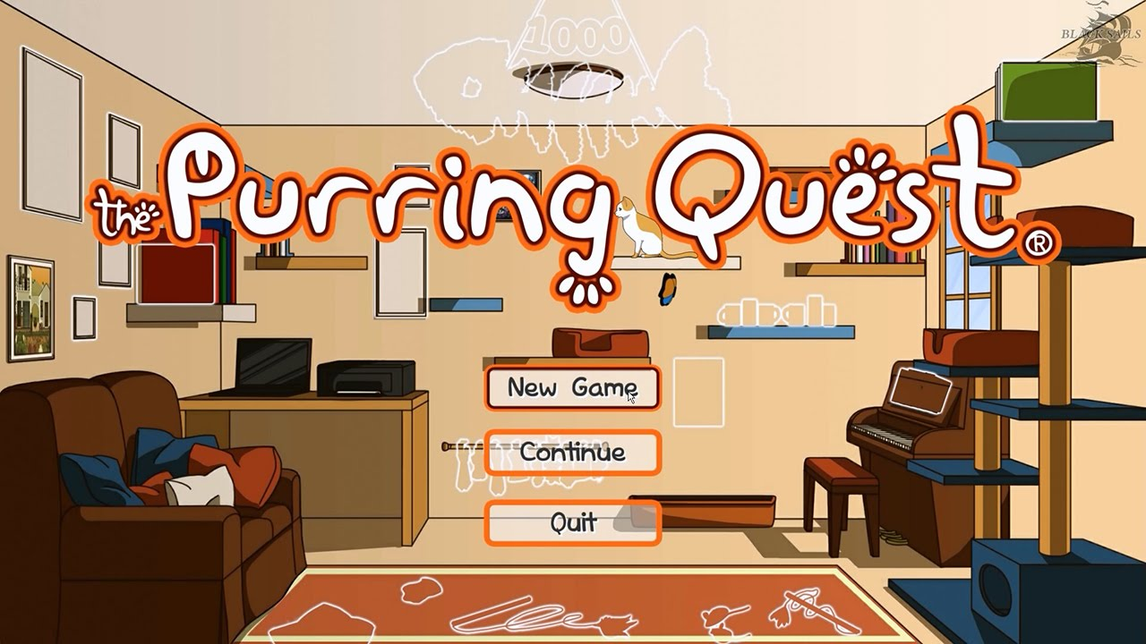 Lets Play The Purring Quest PC Game On Steam By Valhalla Cats 1080p 60fps