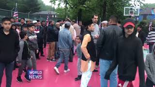 New York Ahmadi Muslims inaugurate new basketball court