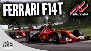 Assetto Corsa F1 2014 Gameplay PC - Ferrari F14T Mod at Monza, Italy