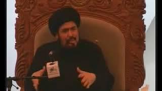 السيد منير الخباز- الزحف المليوني في الأربعين يجعلك تؤمن أن للإمام الحسين ع حرارة لا تبرد أبدأ