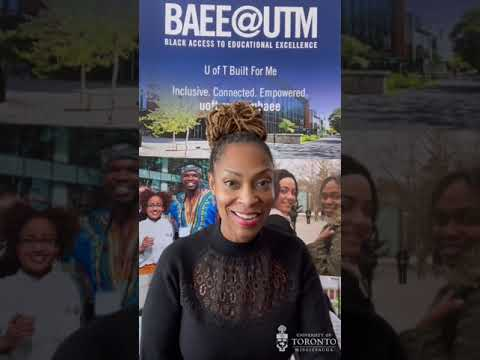 BAEE@UTM (Black Access to Educational Excellence)