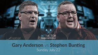 Gary Anderson vs Stephen Bunting | BetVictor World Matchplay Preview Show | Darts 🎯