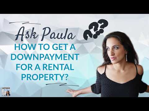 Getting a Downpayment for a Rental Property?   Afford Anything Podcast (Audio-Only)