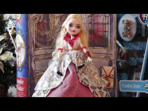Купить Ever After High Кукла День Коронации Эппл Уайт - детские .