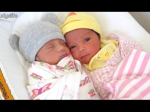 SWEETEST NEWBORN TWINS! - March 17, 2014 - itsJudysLife thumbnail